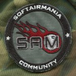 Patch Tonda SAM Standard - Fronte