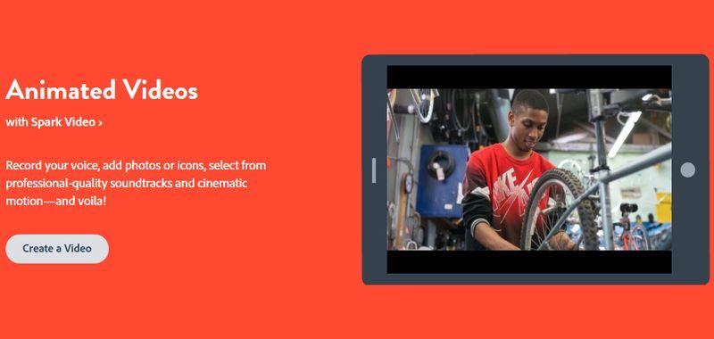 Crear Videos con Adobe Spark Adobe Spark: web gratuita para crear vídeos, historias web e imágenes sociales