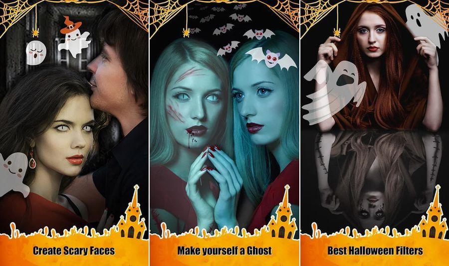 Mejores apps gratis para Halloween 2019 - Foto editor