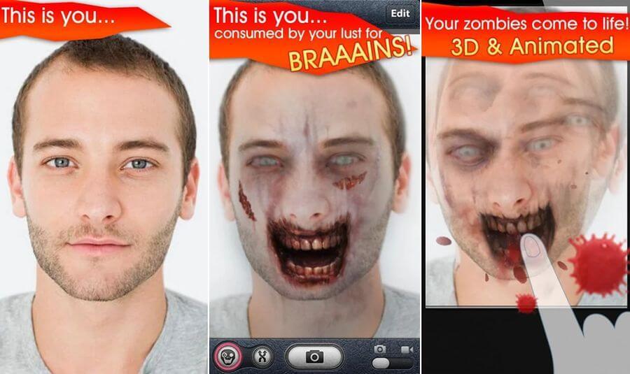 Mejores apps gratis para Halloween 2019 - Zombi