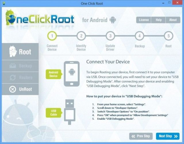 root crack android