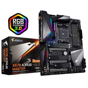 Gigabyte X570 Aorus Master DDR4 AM4 Socket AMD Mainboard