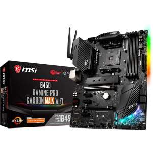 MSI B450 Gaming Pro Carbon Max WiFi AM4 ATX Motherboard
