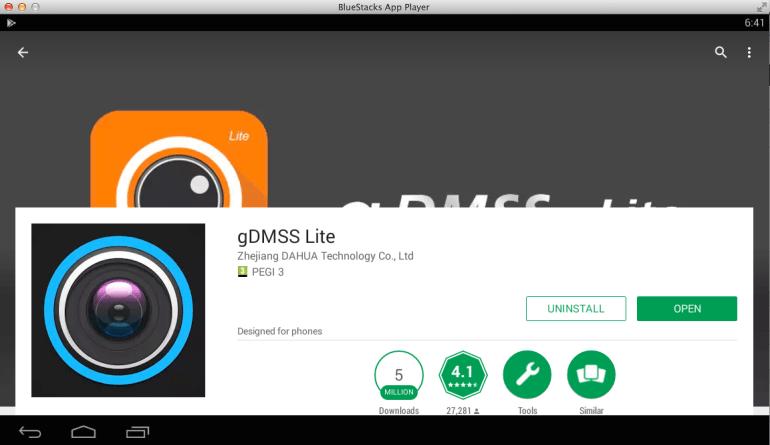 gDMSS-Lite-on-pc-bluestacks