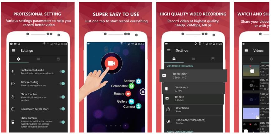 az-screen-recorder-app-screenshots
