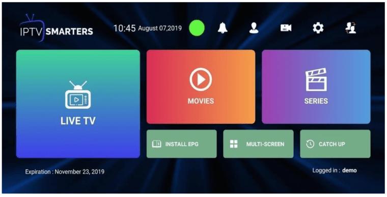 iptv-smarters-pro-screenshot