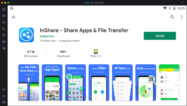 inshare-download-on-pc-via-nox-appp--player