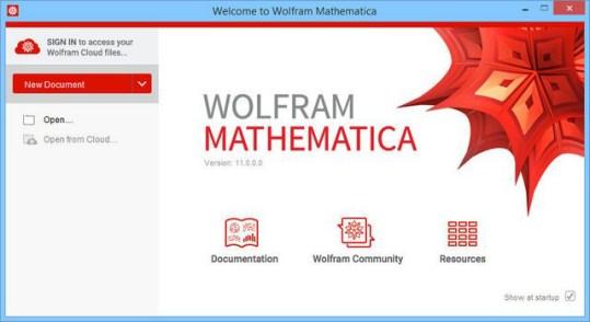 Wolfram Mathematica windows