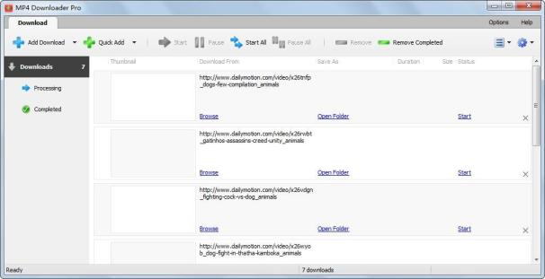 MP4 Downloader Pro windows