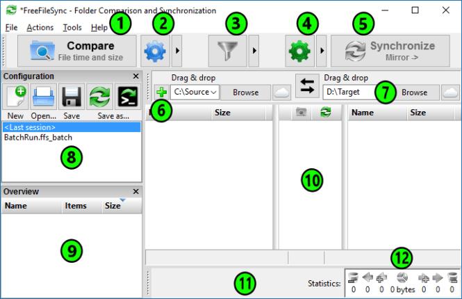 FreeFileSync windows