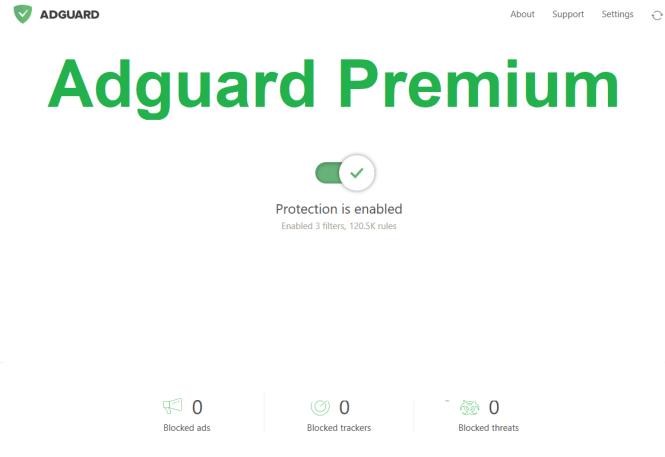 Adguard Premium windows