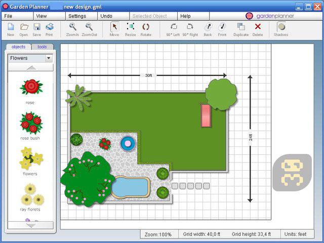 Artifact Interactive Garden Planner windows