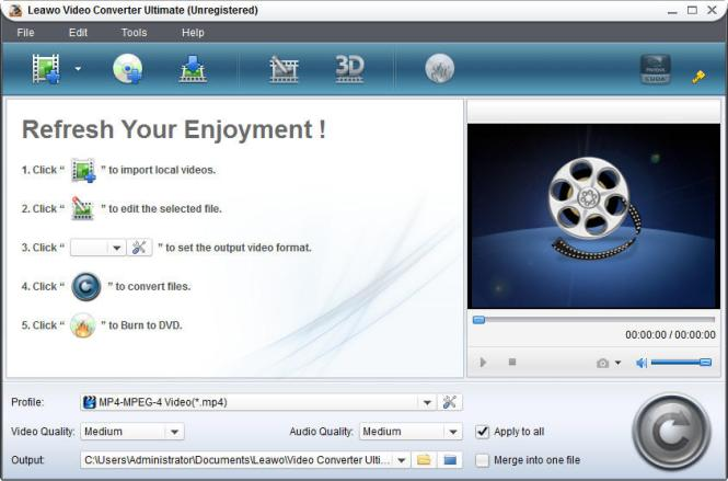 Leawo Video Converter Ultimate windows