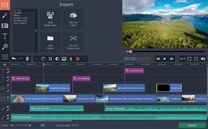 Movavi Video Editor Plus windows