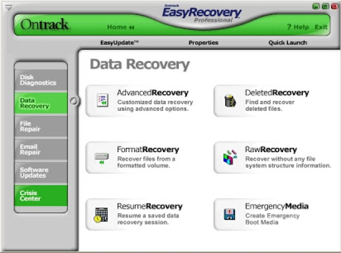 EasyRecovery Professional windows