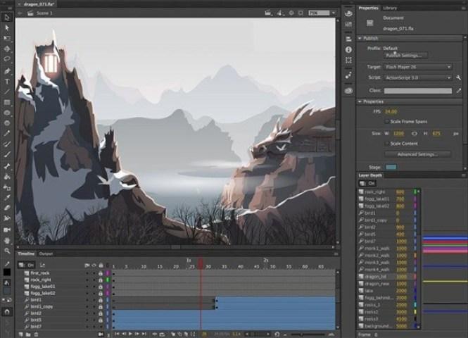 Adobe Animate windows