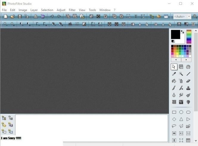 PhotoFiltre Studio windows
