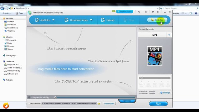 HD Video Converter Factory Pro latest version