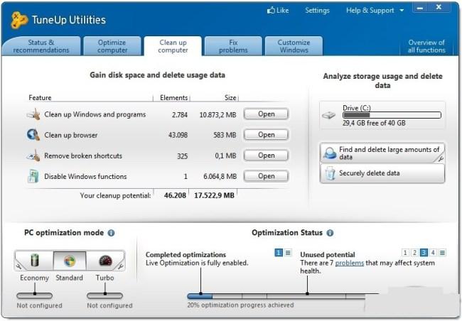 TuneUp Utilities latest version