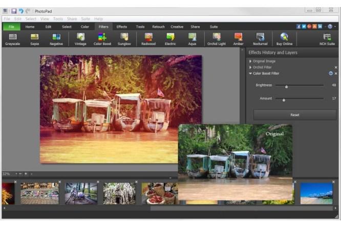 PhotoPad Image Editor Pro windows
