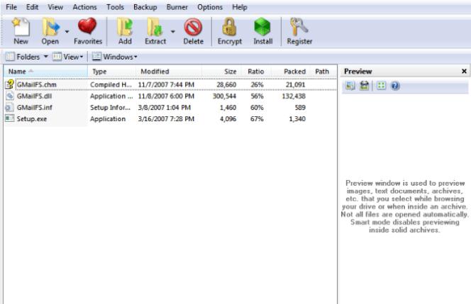 PowerArchiver windows
