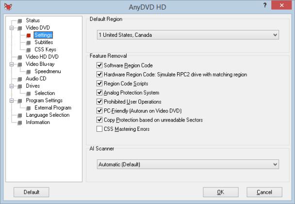 AnyDVD HD latest version