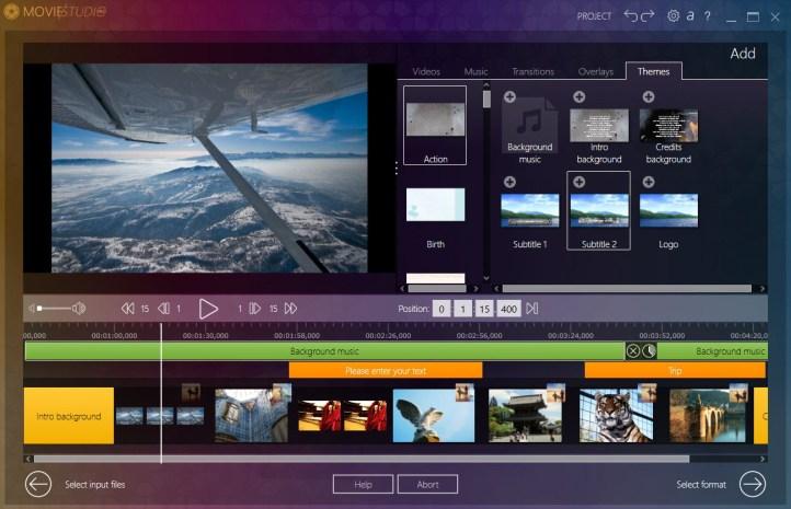 Ashampoo Movie Studio Pro windows