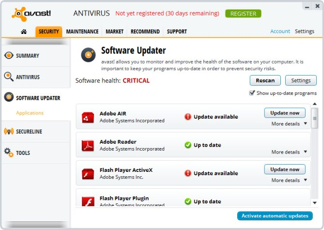 Avast Antivirus latest version