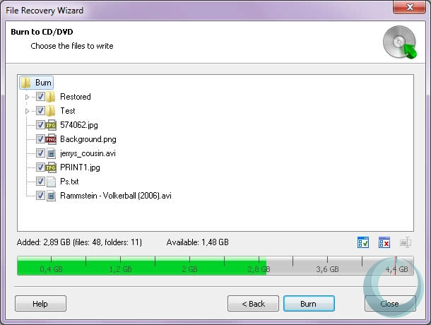 Comfy Partition Recovery latest version