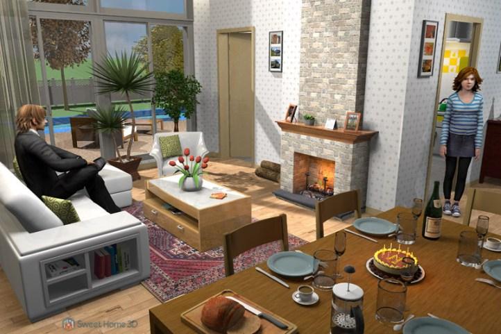Sweet Home 3D windows