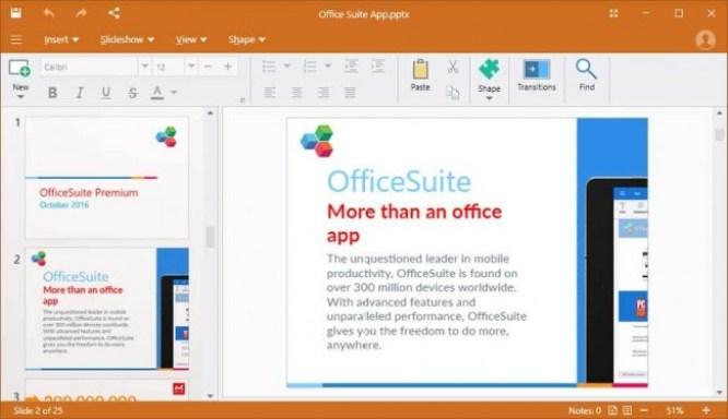 Office Suite Premium latest version