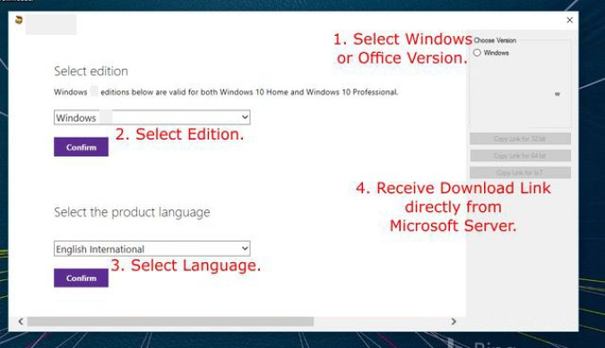 Windows ISO Downloader latest version