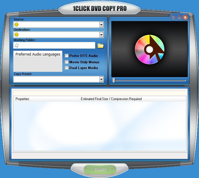 1Click Dvd Copy latest version