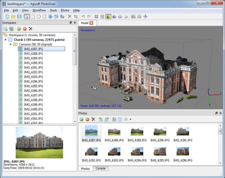 Agisoft PhotoScan Professional latest version