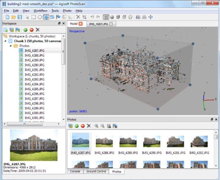 Agisoft PhotoScan Professional windows