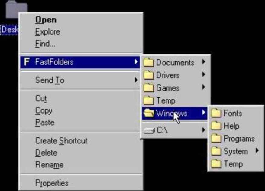 FastFolders latest version