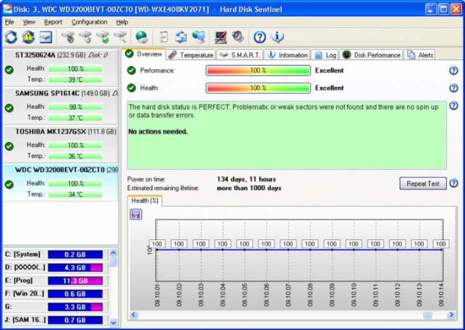 Hard Disk Sentinel latest version