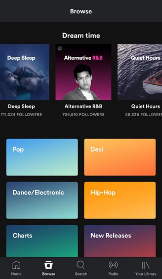 Spotify latest version