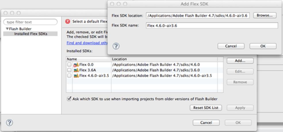 Adobe AIR SDK latest version