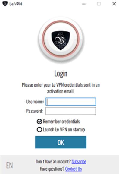Le VPN latest version