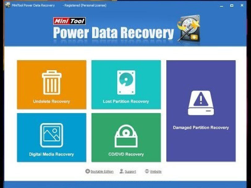 MiniTool Power Data Recovery windows