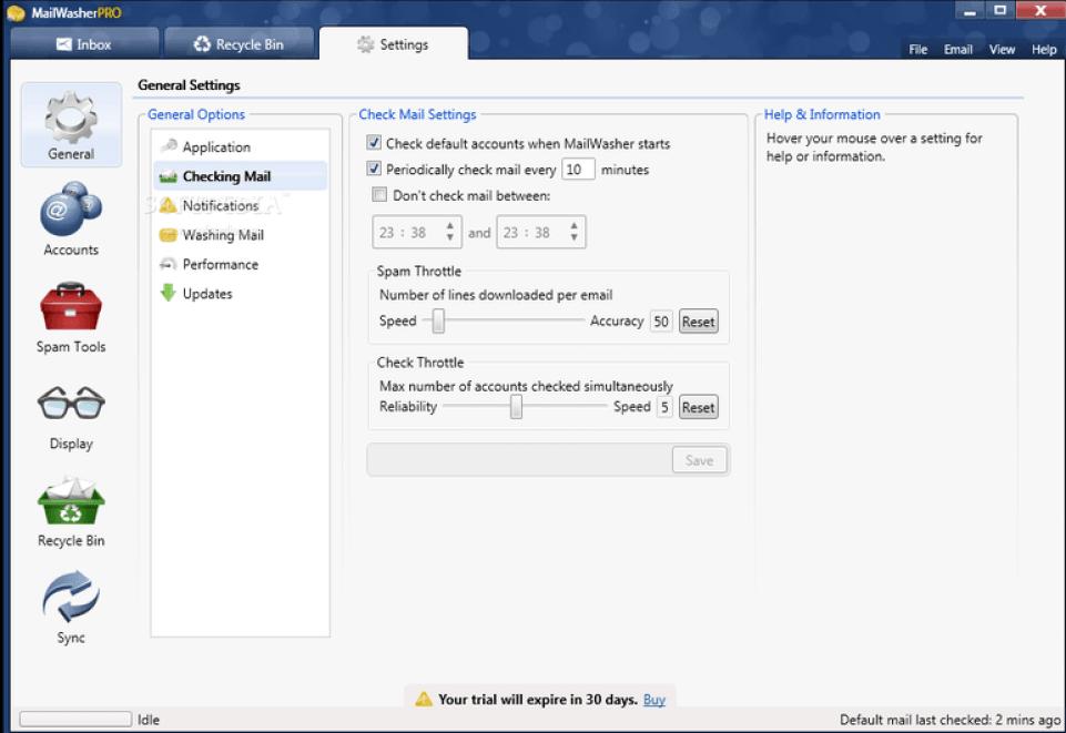 Firetrust MailWasher Pro latest version