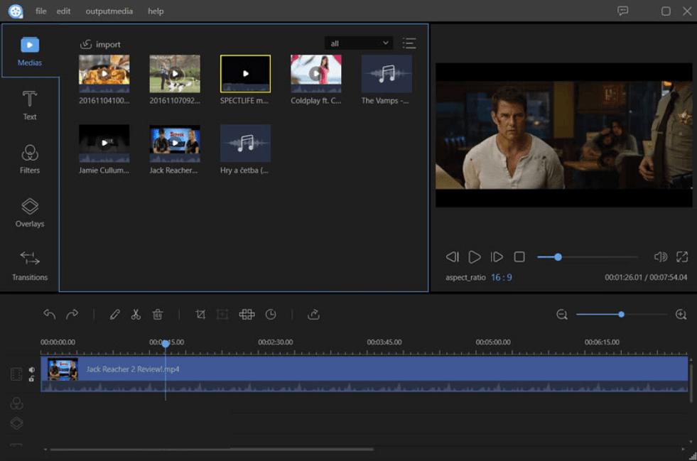 Apowersoft Video Editor latest version