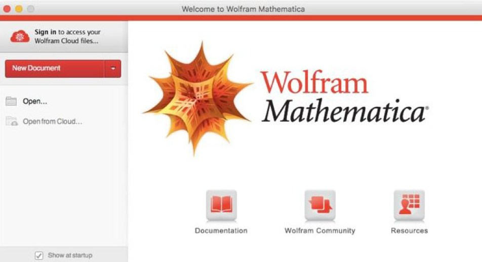 Wolfram Mathematica windows