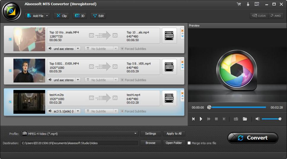 Aiseesoft MTS Converter latest version