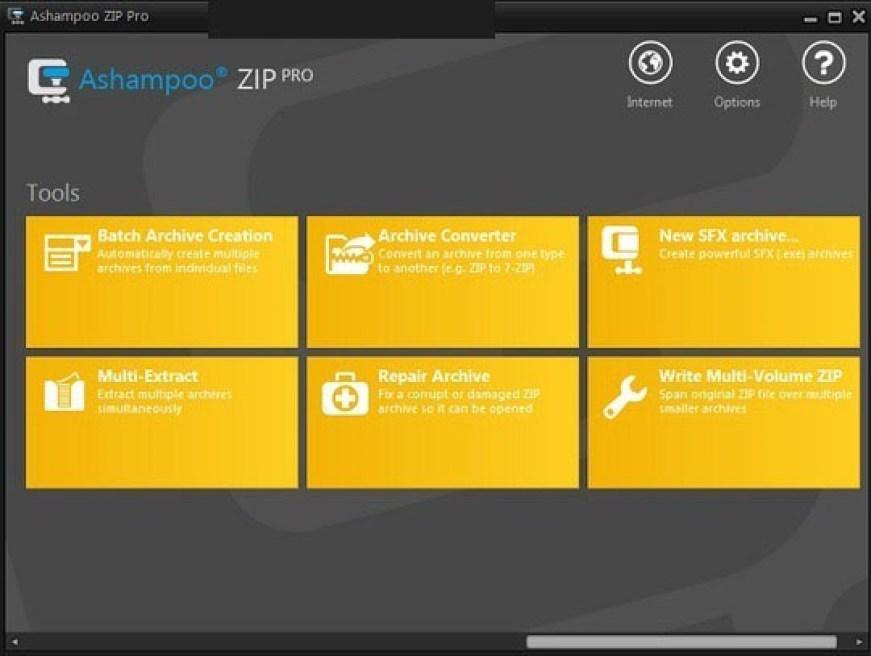 Ashampoo ZIP Pro latest version