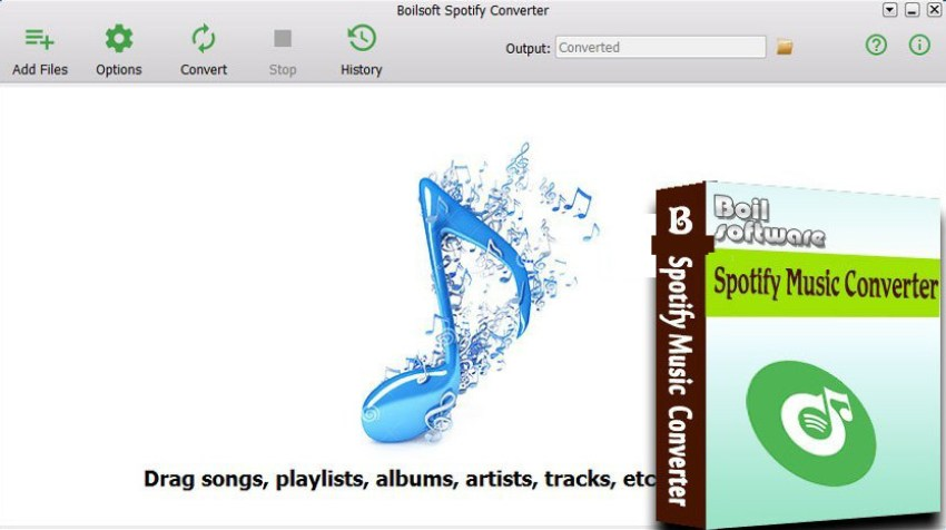 Boilsoft Spotify Converter windows