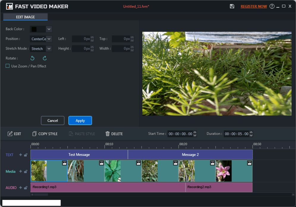 Fast Video Maker latest version