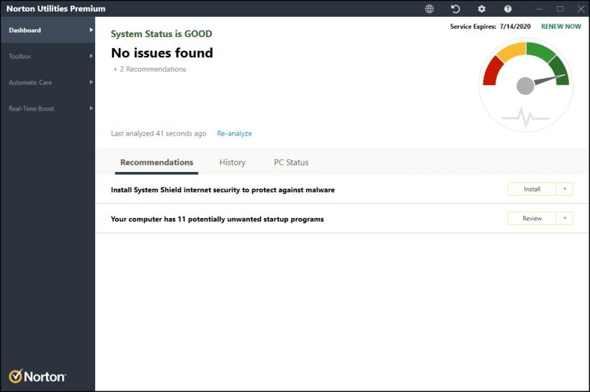 Norton Utilities Premium latest version