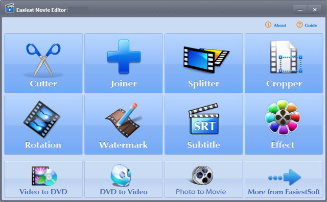 EasiestSoft Movie Editor windows